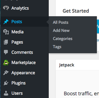 how to add posts to wordpress