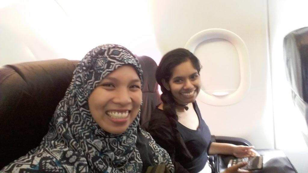 flying airasia singapore
