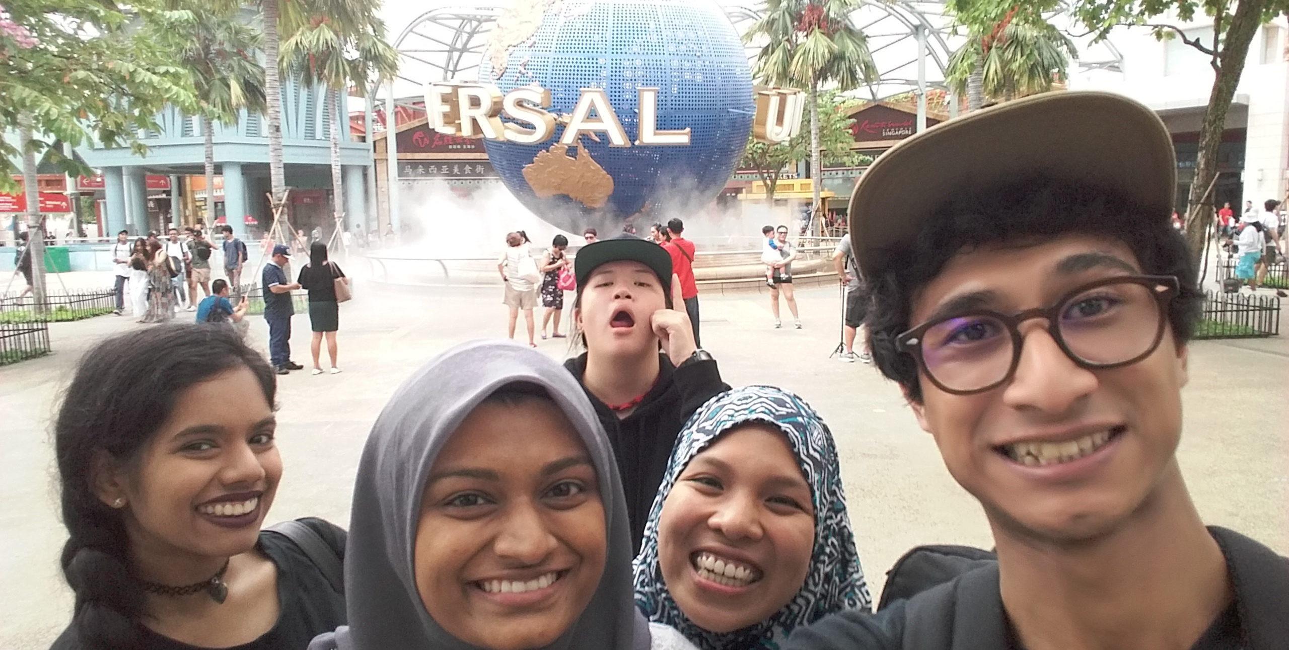 Universal Studios Singapore Ninja Housewife Tiket Studio Singapura Anak