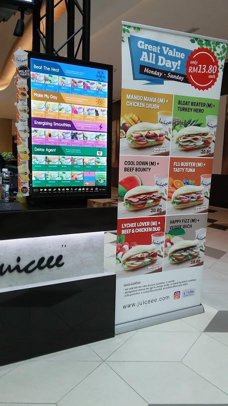 juicee the starling mall review