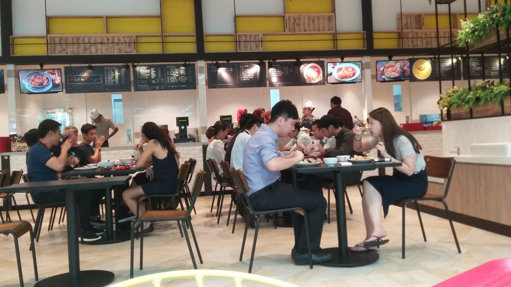lim fried chicken food court starling mall