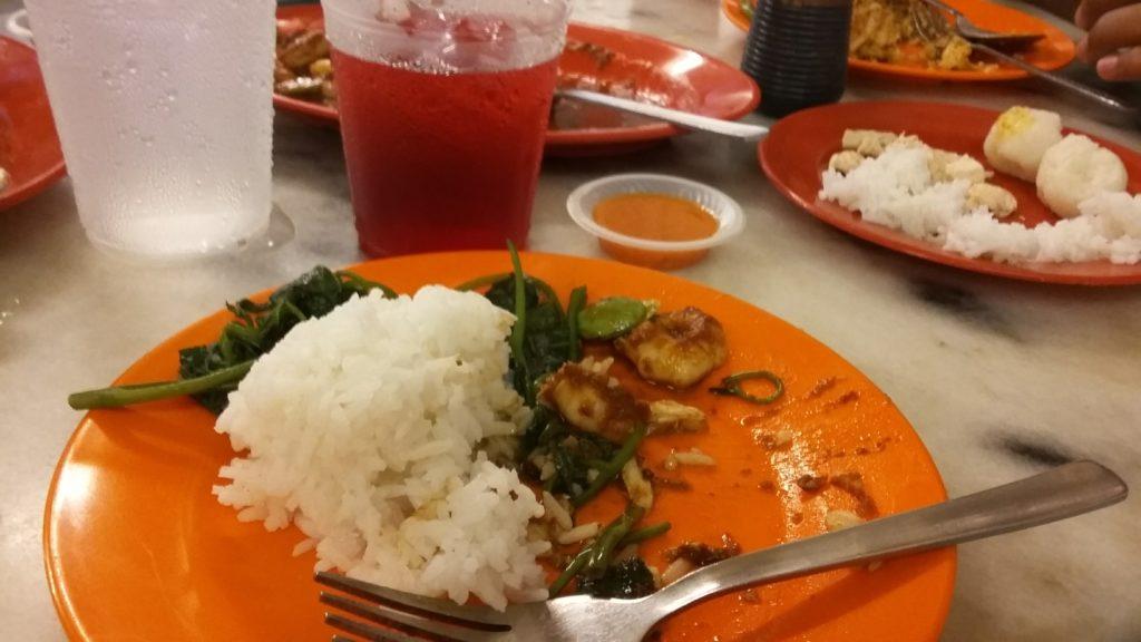 ee ji ban restaurant halal chicken rice balls melaka