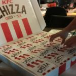kfc chizza special delivery review