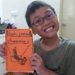 autistic child spelling journal