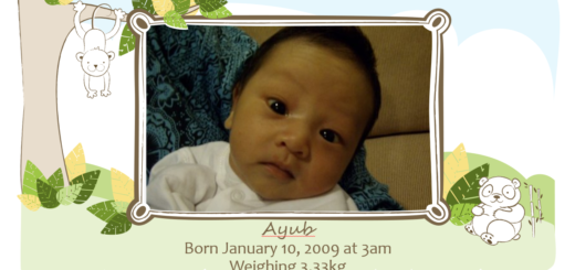 ayub 9 birthday