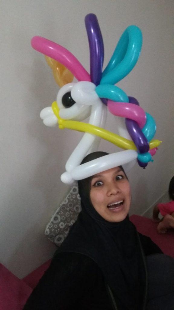 supa dupa circus balloon twister malaysia
