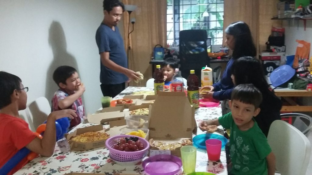 autistic child social skills birthday party