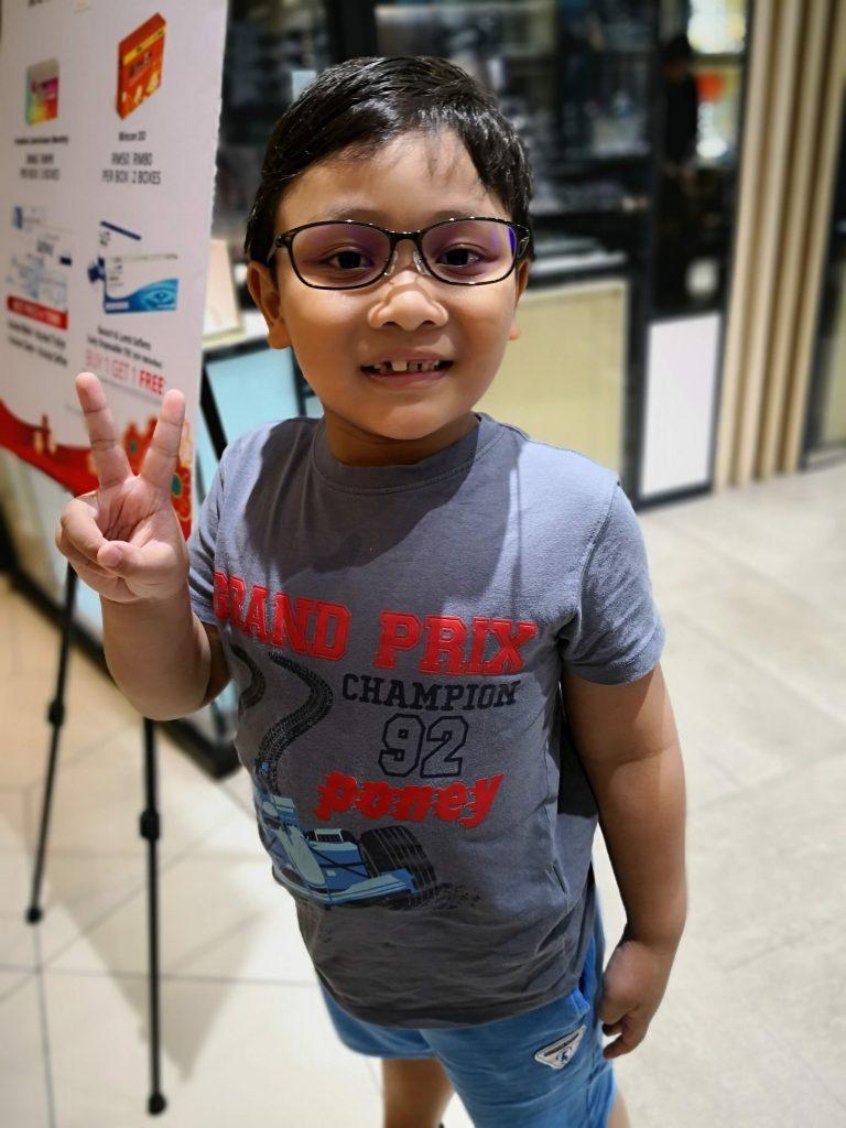 5b4c656b95bb Sulaiman Gets Glasses At 7 Years Old - Ninja Housewife